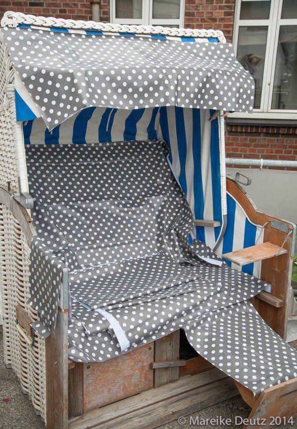 einen strandkorb neu beziehen m bel selbstgemacht pinterest strandkorb kultur und neuer. Black Bedroom Furniture Sets. Home Design Ideas