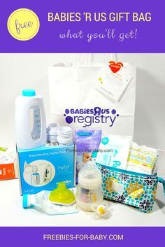 Free Babies R Us Registry Gift Bag What You Ll Get Free Baby Stuff Babies R Us Baby Samples