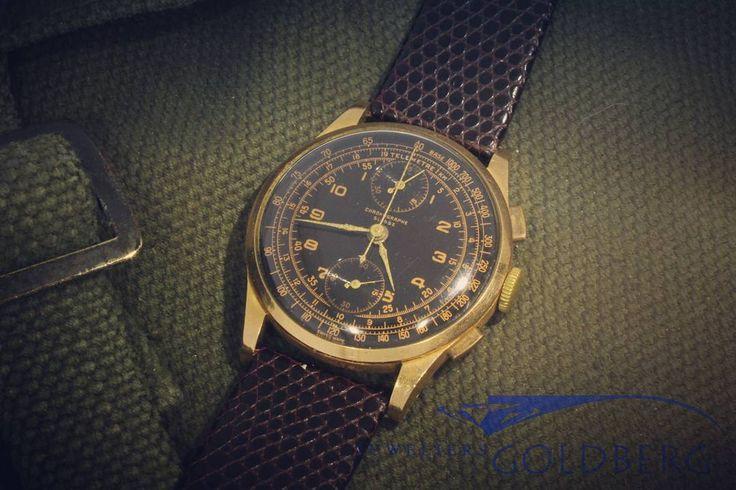 goldbergjuweliers#vintage#vintagewatch#venus#venuswatches#chronometre#telemetre#telemetry#goldwatch#vintagesieraden#swisswatch#goldbergjewelers#goldberg#juwelier#eindhoven