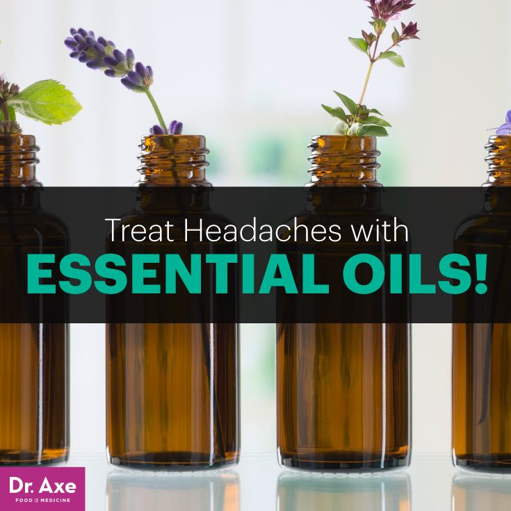 The most common headache treatment is a painkiller, but these pills come with a host of ugly side effects, like kidney and liver damage; plus they don't deal with the root of the problem.Here are my Top 4 Essential Oils for Headaches! www.draxe.com