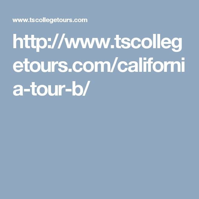 California College tours are the 7-days program staring from July 14th-20th.  California is divided into north and south. In this tours you can travel south to visit popular colleges and universities of San Diego and Anaheim areas before making the way north to visit UCSB and then on to northern California. Along the way, students will receive advice directly from admissions officers, current college students and College Tours counselors.