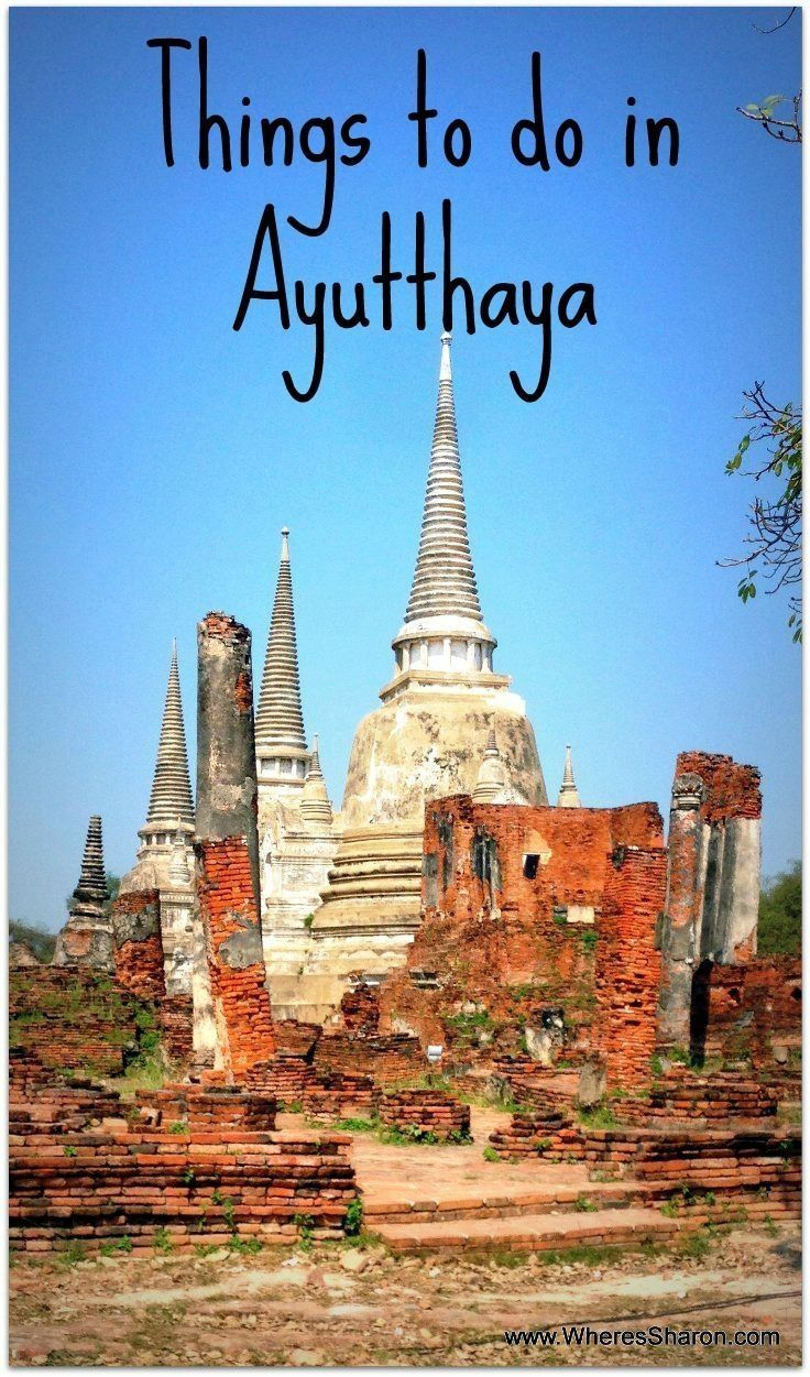 """All about family travel in <a href=""""/search/?q=%23Ayutthaya"""" class=""""pintag searchlink"""" title=""""#Ayutthaya search Pinterest"""" rel=""""nofollow"""" data-query=""""%23Ayutthaya"""" data-type=""""hashtag"""">#Ayutthaya</a>, <a href=""""/search/?q=%23Thailand"""" class=""""pintag searchlink"""" title=""""#Thailand search Pinterest"""" rel=""""nofollow"""" data-query=""""%23Thailand"""" data-type=""""hashtag"""">#Thailand</a> <a href=""""http://www.wheressharon.com/travel-with-kids-se-asia/family-travel-ayutthaya/"""" target=""""_blank""""…"""