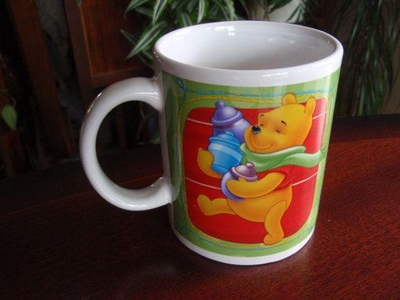Winnie the Pooh, Tigger Piglet Disney Mug Collectible Disney Cup a2361