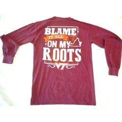 blame it all on my roots.