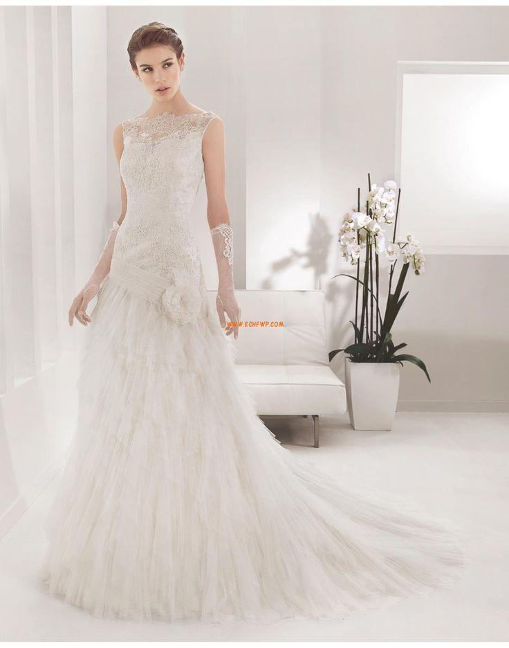 Scintillant & brillant Printemps Ruché Robes de mariée 2015