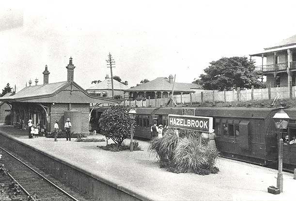 Hazelbrook Station