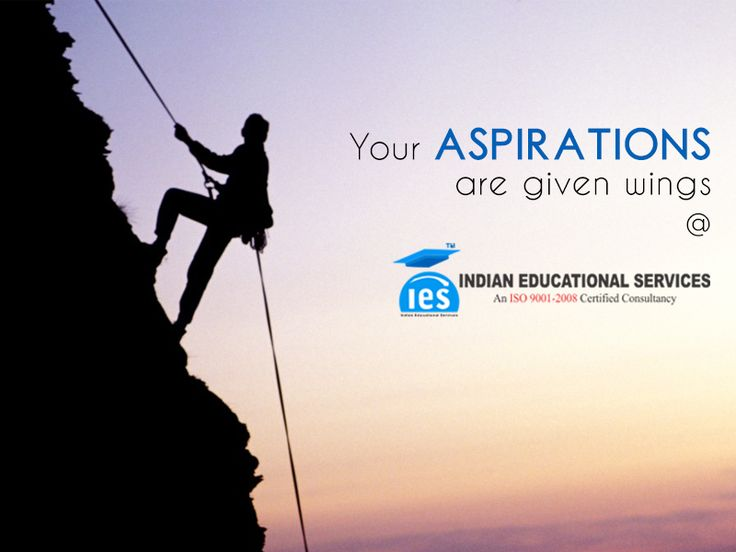 Your aspirations are given wings at IES