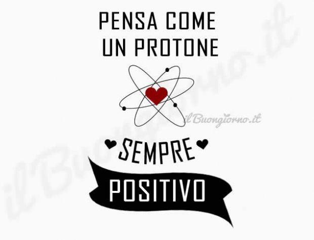 Pensa come un protone...