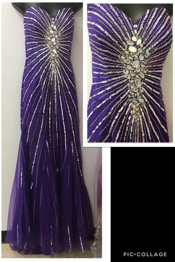 You can never have to many jewels & this gown is STUNNING  New With Tags Size 8 & only $215.00 Designer Consigner Boutique 6329 S. Mooresville Road Indianapolis, IN 46221 317-856-6370 317-979-9628-Text Option #Indiana #Indianapolis #Indy #DesignerGowns #DesignerDresses #Formals #FormalGowns #FormalDresses  #Prom #PromGowns #PromDresses #Prom2017 #Prom2K17 #MilitaryBall #MilitaryBalls #Pageants #PageantGowns #DesignerConsignerBoutique #SmileyProm