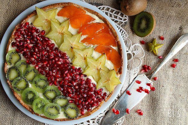 Tarte aux fruits exotiques | Emilie and Lea's Secrets