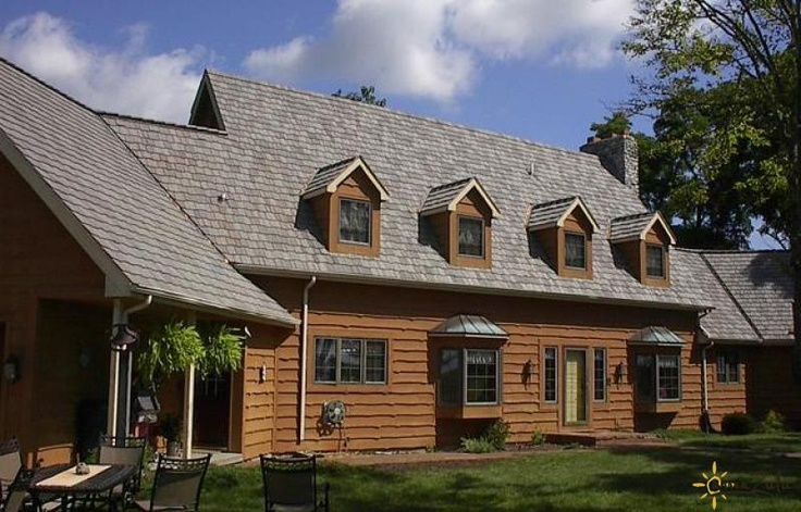 Best Faux Cedar Shake Roofing Tiles From Amazulu Are A Perfect 640 x 480