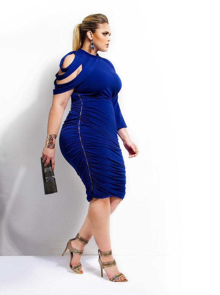 Monif Dahlia Dress in Royal.  Want!