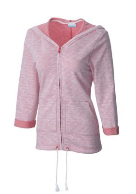 Columbia Sunset Red Heather Wear It Everywhere8482 Hoodie