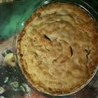 Tourtiere recipe...easy as (meat) pie. will be making this come july 1.  1 pound lean ground pork  1/2 pound lean ground beef  1 onion, diced  1 clove garlic, minced  1/2 cup water  1 1/2 teaspoons salt  1/2 teaspoon dried thyme, crushed  1/4 teaspoon ground sage  1/4 teaspoon ground black pepper  1/8 teaspoon ground cloves  1 recipe pastry for a 9 inch double crust pie