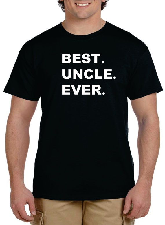 Uncle Gift BEST UNCLE EVER T shirt Gifts For Uncle by gulftees