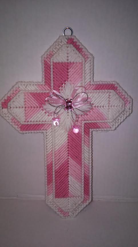 Easter Cross Plastic Canvas Firefighters Cross by MaidenLongIsland