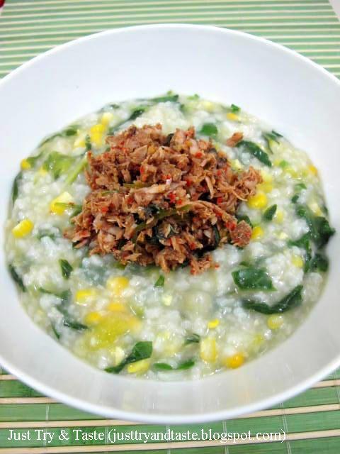 Just Try & Taste: Bubur Manado: Si Campur Aduk yang Nikmat