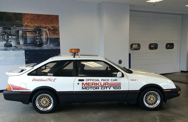 Ex-Roush 1986 Merkur XR4Ti Detroit GP Pace Car