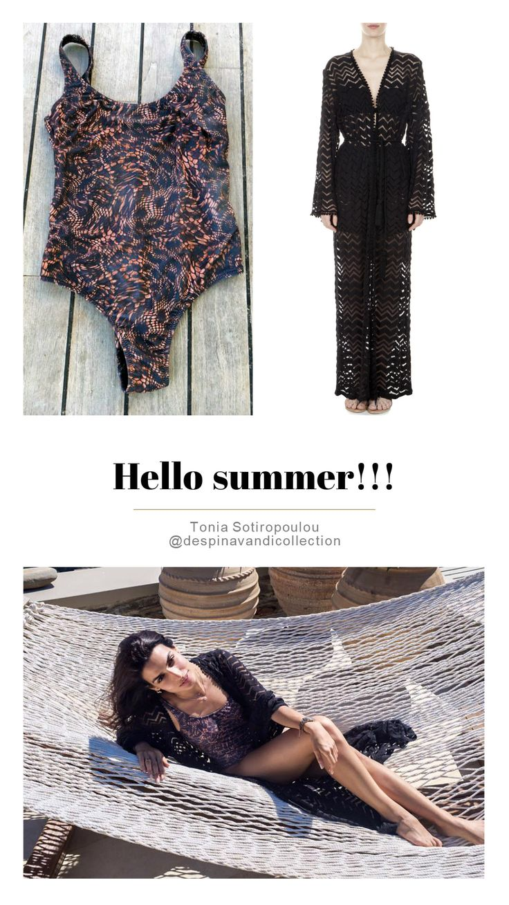 #despinavandicollection #caftan #swimsuit  http://shop.despinavandi.gr/spring---summer-2016/caftans.html
