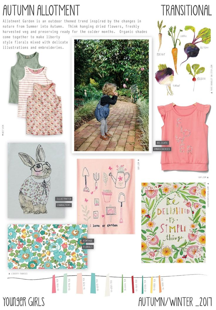 Emily Kiddy: Autumn Allotment - Autumn/Winter 2016/17 - Younger Girls Trend