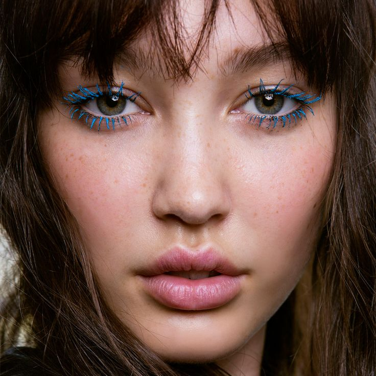 Could you wear Chanel's new blue mascara? Find out and get more eye makeup ideas at www.redonline.co.uk
