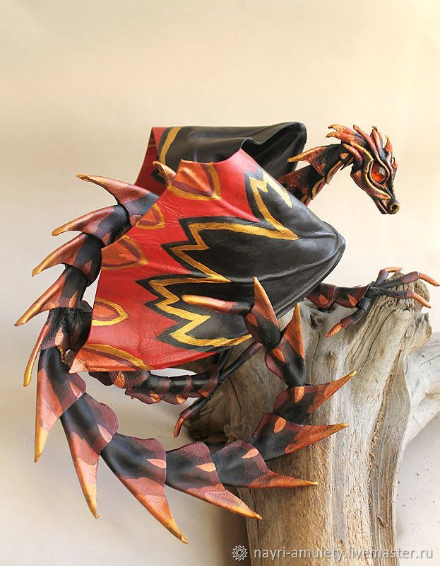 Toy dragon Copper claw – shop online on Livemaster with shipping