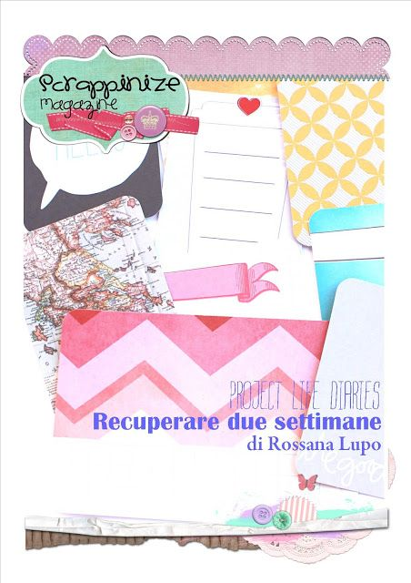 scrappinize magazine: Project Life Diaries: by Rossana Lupo