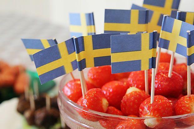 strawberries - Sweden - summer