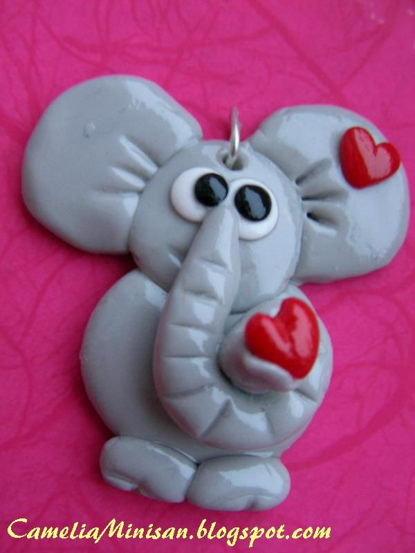Camelia Minişan: Fimo story: elefantel