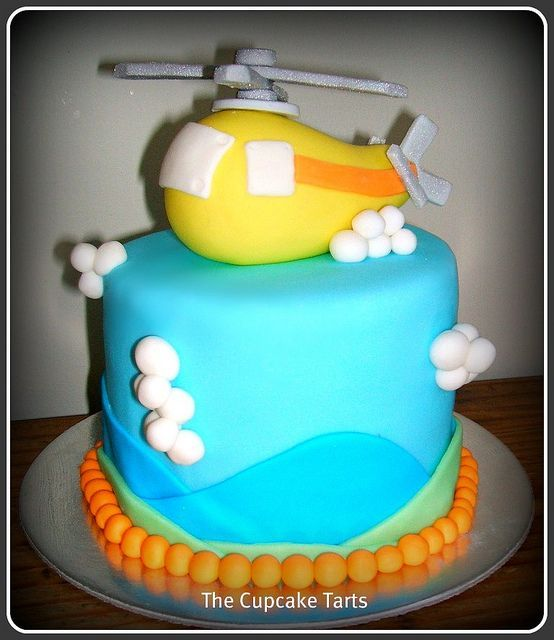 helicopter cake tutorial - Google Search