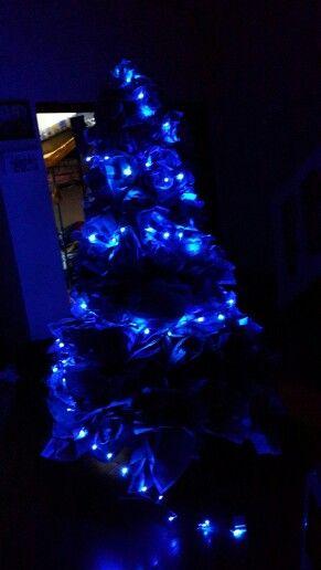 Newspaper Christmash tree