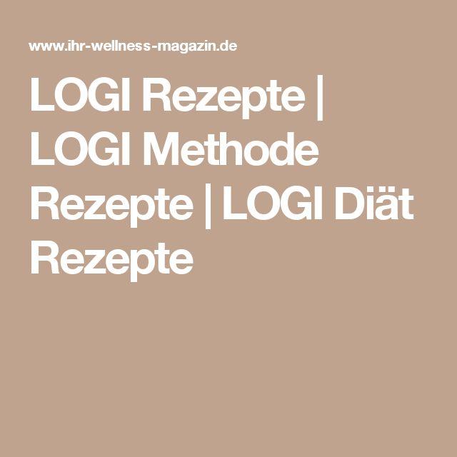 LOGI Rezepte | LOGI Methode Rezepte | LOGI Diät Rezepte
