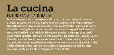 CUCINA FUTURISTA: CUCINA FUTURISTA & MISCELAZIONE FUTURISTA: Fabio D...