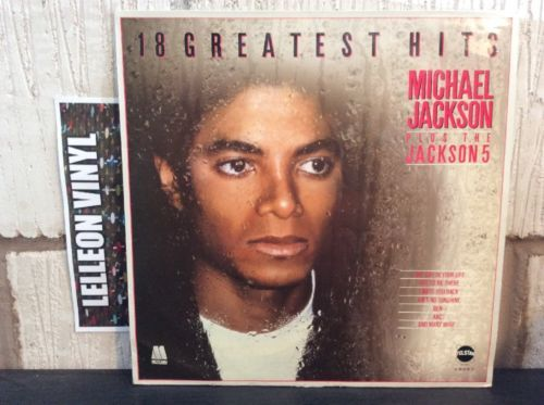 Michael Jackson 18 Greatest Hits Inc Jackson 5 STAR2232 Motown 80's Soul LP R&B Music:Records:Albums/ LPs:R&B/ Soul:Motown
