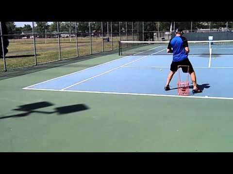 Tennis Ball Machine Drill Backhands (Will Hamilton's Drill)