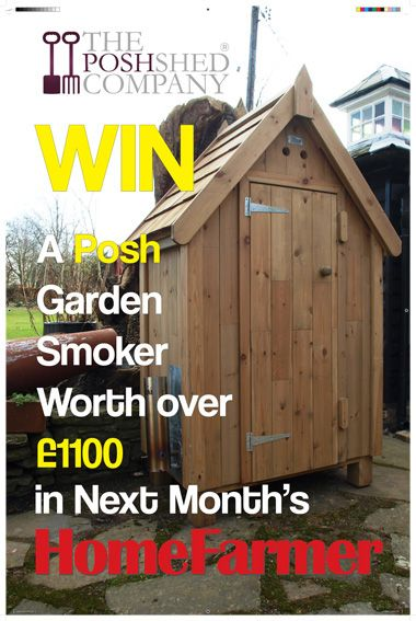 Win prize from The Posh Shed Company in next month's issue