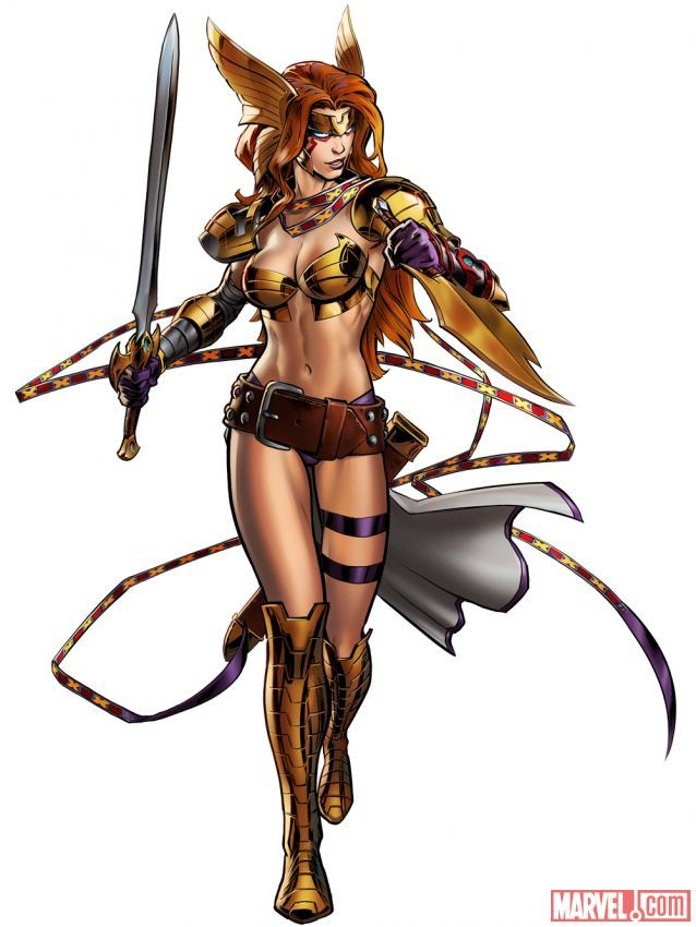 Angela in #Marvel: Avengers Alliance