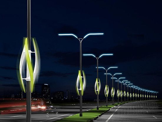 Eco friendly streetlights that show us the green way - Promoting Eco Friendly Lifestyle to Save Enviornment - Ecofriend