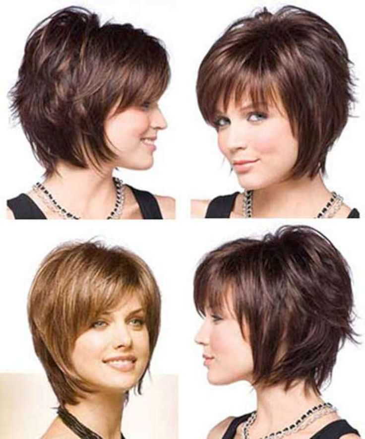 Pictures Of Short Hairstyles With Bangs And Layers 2014