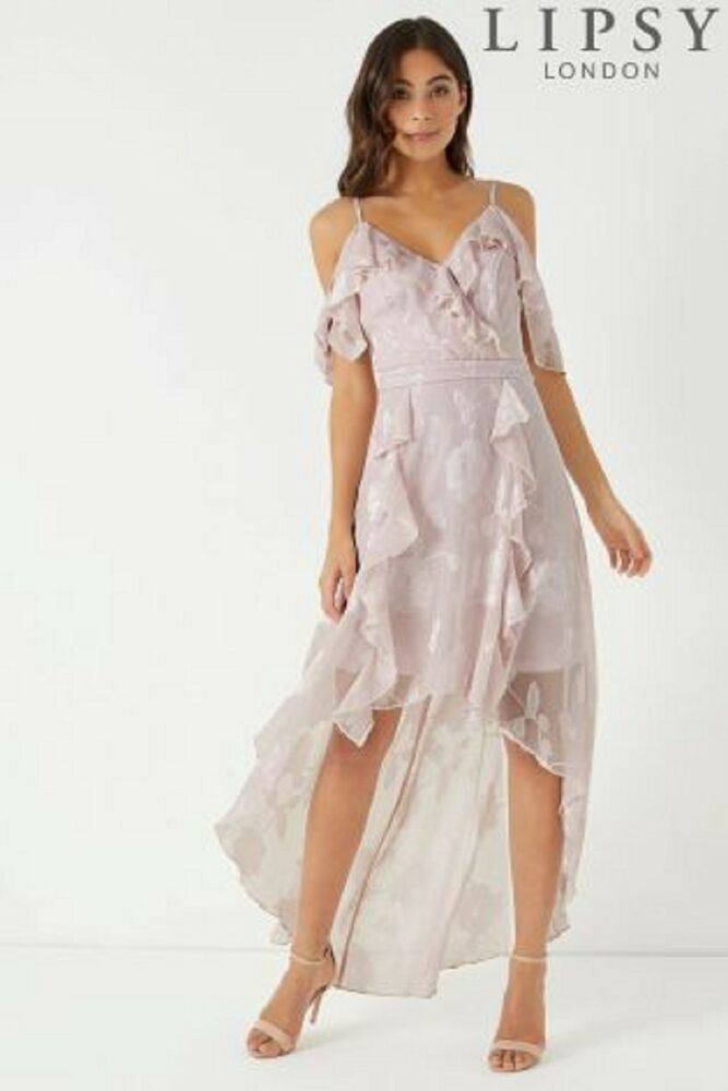 138914515fd4 BNWT Lipsy Pale Pink Floral Burnout Long Maxi Dress Size 10 RRP 75 #fashion  #clothing #shoes #accessories #womensclothing #dresses (ebay link)