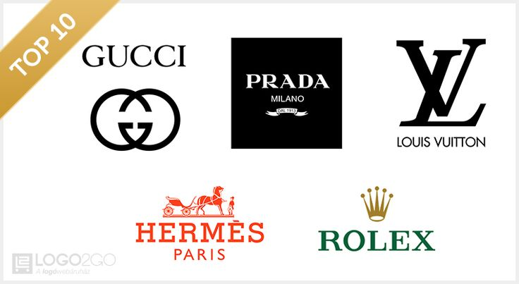 luxus logói - luxury logos