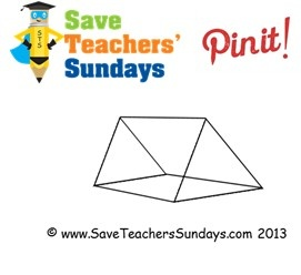 Triangular prism (transparent) - http://www.saveteacherssundays.com/maths/year-3/105/prisms-and-pyramids/ for more prisms and pyramids, prisms and pyramids worksheets, prisms and pyramids lesson plans, prisms and pyramids  powerpoints and other prisms and pyramids teaching resources #triangular prism, #prism, #shapes, #3D, #polyhedron, #maths, #math, #teaching, #teachers, #teacher, #tutors, #tutor, #teach, #education, #learn, #learning, #primary, #elementary, #KS1, #KS2