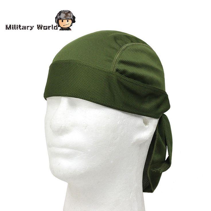 Tactical Hunting Free Size Sports Cap Hat Adults Men Women Polyester Riding Racing Cycling Helmet Caps Bike Bandana Headband !