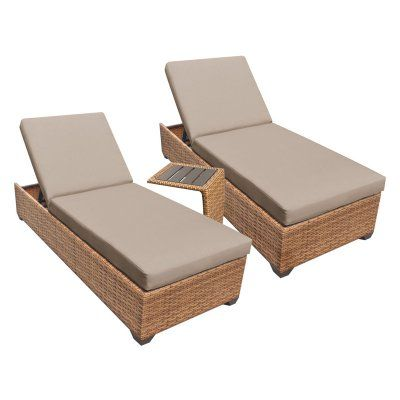 25 best ideas about outdoor chaise lounge chairs on for Chaise cushion covers