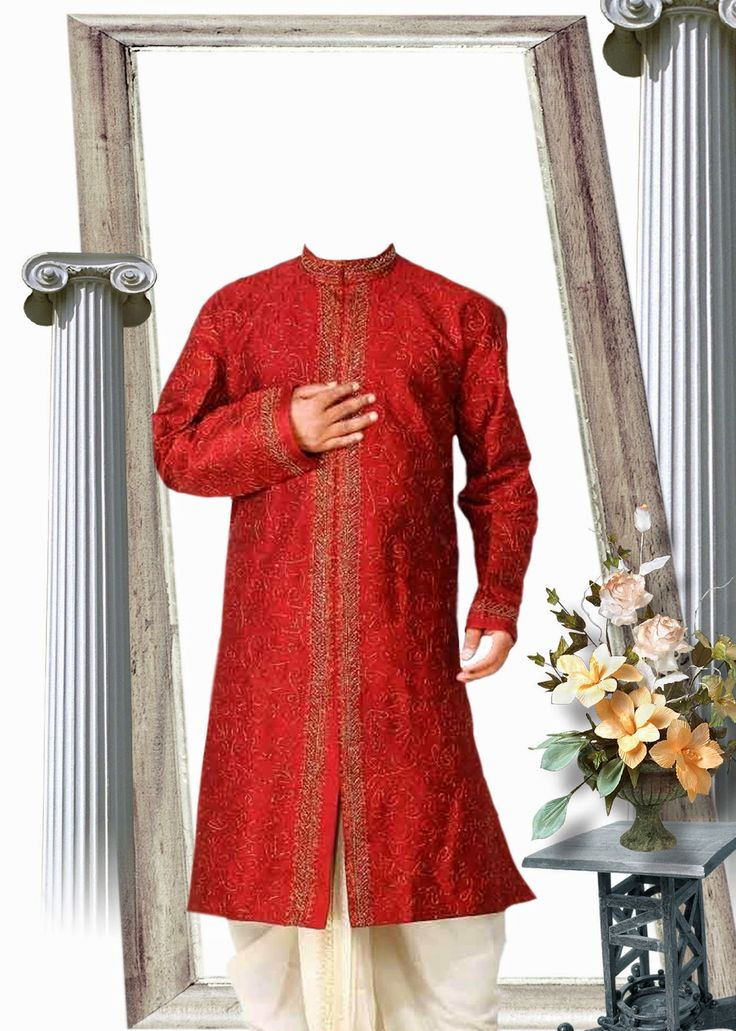 Lucky Studio 4U: Pakistani Sherwani Dress In PhotoShop Psd File