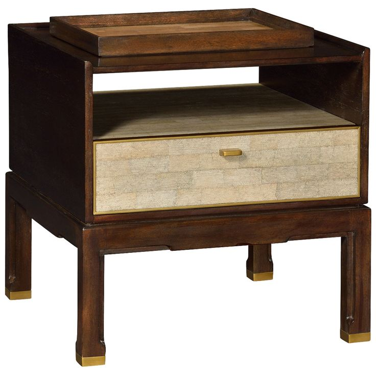 jonathan charles langkawi small bedside table with a separate tray