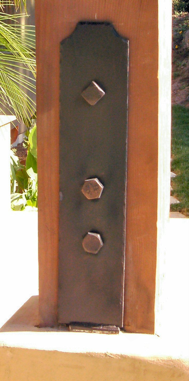 Transitional Iron Post Base 305