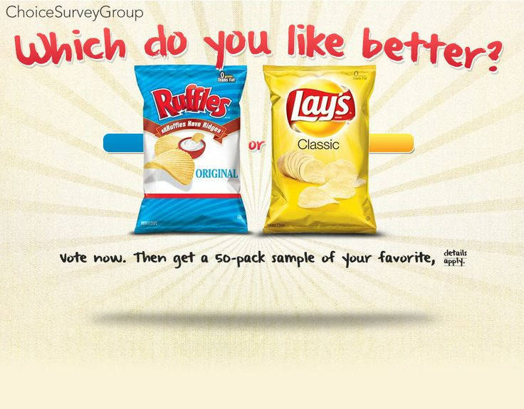 Lay's vs Ruffles, which do you like better?