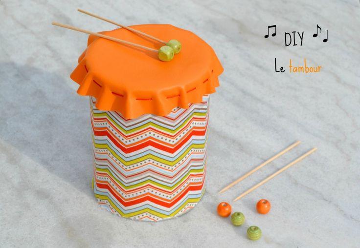 DIY : Le tambour On recycle les vieilles boites de conserve !