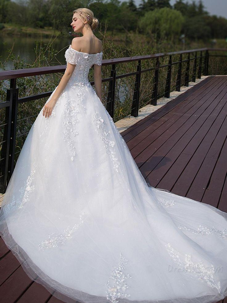 Supplies off the shoulder appliques for Wedding dress appliques suppliers